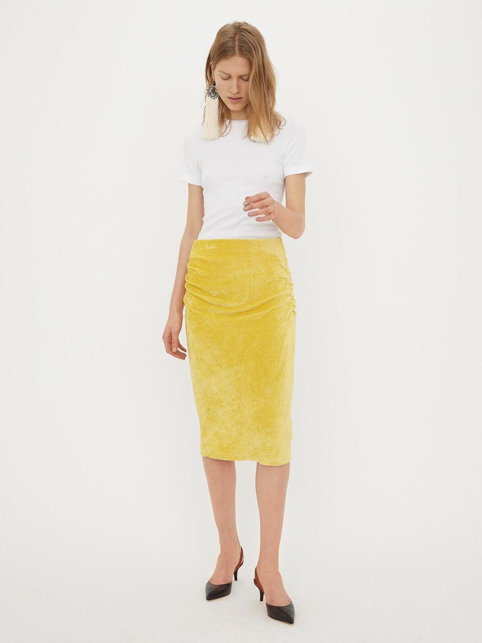 ce7d01a6e6 Velvet skirt - Buy Skirts online